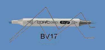 COPIC CIAO ROTULADOR DEEP REDDISH BLUE BV17
