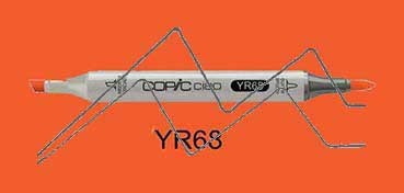 COPIC CIAO ROTULADOR ORANGE YR68