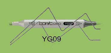 COPIC CIAO ROTULADORLETTUCE GREEN YG09