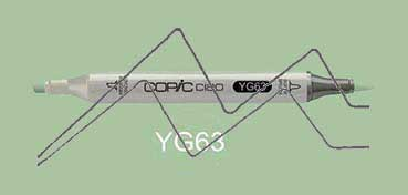 COPIC CIAO ROTULADOR PEA GREEN YG63