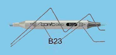 COPIC CIAO ROTULADOR PHTHALO BLUE B23
