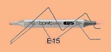 COPIC CIAO ROTULADOR DARK SUNTAN E15