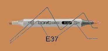 COPIC CIAO ROTULADOR SEPIA E37