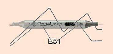 COPIC CIAO ROTULADOR MILKY WHITE E51