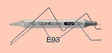 COPIC CIAO ROTULADOR TEA ROSE E93