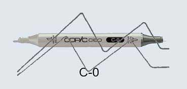 COPIC CIAO ROTULADOR COOL GRAY C0