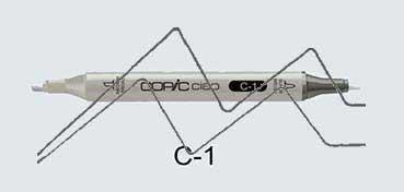 COPIC CIAO ROTULADOR COOL GRAY C1