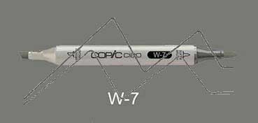 COPIC CIAO ROTULADOR WARM GRAY 7 W7
