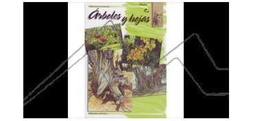 LIBRO DE TECNICAS ARTÍSTICAS LEONARDO Nº  45 ÁRBOLES Y HOJAS