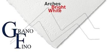 ARCHES PAPEL DE ACUARELA BLANCO BRILLANTE 640 G GRANO FINO