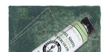 DANIEL SMITH EXTRA FINE WATERCOLOR TUBO RARE GREEN EARTH (TIERRA VERDE), PIGMENTO: NATURAL RARE GREEN EARTH, SERIE 2 Nº 181