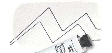 DANIEL SMITH EXTRA FINE WATERCOLOR TUBO TITANIUM WHITE (BLANCO DE TITANIO), PIGMENTO: PW 6, SERIE 1 Nº 118