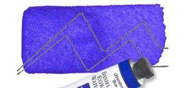 DANIEL SMITH EXTRA FINE WATERCOLOR TUBO ULTRAMARINE BLUE (AZUL ULTRAMAR), PIGMENTO: PB 29, SERIE 1 Nº 106
