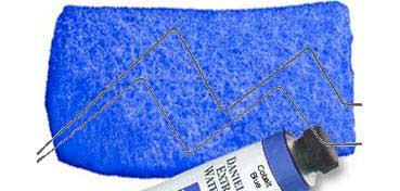 DANIEL SMITH EXTRA FINE WATERCOLOR TUBO COBALT BLUE (AZUL DE COBALTO), PIGMENTO: PB 28, SERIE 3 Nº 25