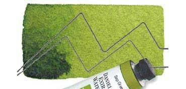 DANIEL SMITH EXTRA FINE WATERCOLOR TUBO SAP GREEN (VERDE VEJIGA), PIGMENTO: P0 48, PG 7, PY 150, SERIE 2 Nº 102