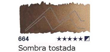 AKADEMIE MEDIO GODET 664 SOMBRA TOSTADA