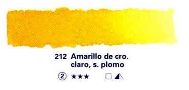HORADAM GODET COMPLETO 212 AMARILLO DE CROMO CLARO, SIN PLOMO S2