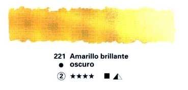 HORADAM GODET COMPLETO 221 AMARILLO BRILLANTE OSCURO S2