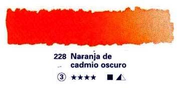 HORADAM GODET COMPLETO 228 NARANJA DE CADMIO OSCURO S3