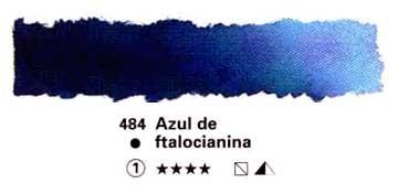 HORADAM GODET COMPLETO 484 AZUL DE FTALOCIANINA S1