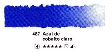 HORADAM GODET COMPLETO 487 AZUL DE COBALTO CLARO S4