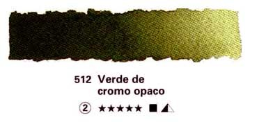 HORADAM GODET COMPLETO 512 VERDE OXIDO DE CROMO OPACO S2
