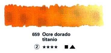 HORADAM GODET COMPLETO 659 OCRE DORADO TITANIO S2