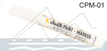 LA PAJARITA CHALK PAINT MARKER BLANCO NUBE CPM-01