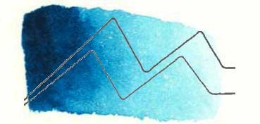 TALENS ACUARELA REMBRANDT TUBO AZUL TURQUESA - TURQUOISE BLUE - SERIE 2 - Nº 522
