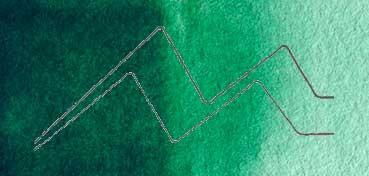 DALER ROWNEY ACUARELA ARTIST SERIE 1 VERDE HOOKERS OSCURO - HOOKERS GREEN DARK Nº 354