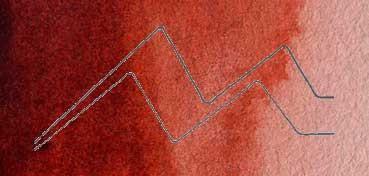 DALER ROWNEY ACUARELA ARTIST SERIE 1 ROJO PARDO TRANSPARENTE - TRANSPARENT RED BROWN Nº 261