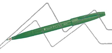 PENTEL TOUCH SIGN PEN PUNTA PINCEL - VERDE