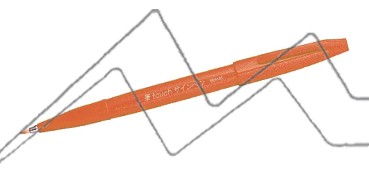 PENTEL TOUCH SIGN PEN PUNTA PINCEL - NARANJA