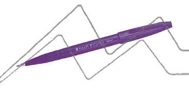 PENTEL TOUCH SIGN PEN PUNTA PINCEL - VIOLETA