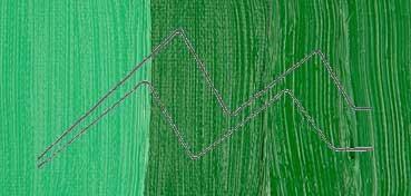 SENNELIER ÓLEO EXTRAFINO VERDE DE CADMIO OSCURO LEGÍTIMO - CADMIUM GREEN DEEP - SERIE 6 - Nº 825