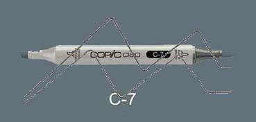 COPIC CIAO ROTULADOR COOL GRAY C7