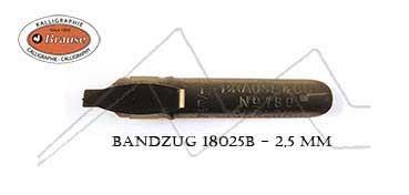 BRAUSE PLUMILLA PARA CALIGRAFÍA BANDZUG 2,5 MM