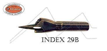 BRAUSE PLUMILLA PARA DIBUJO INDEX 29B