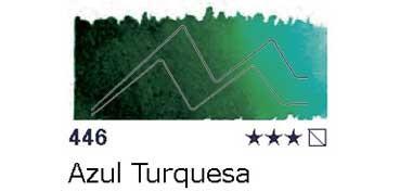 AKADEMIE MEDIO GODET 446 AZUL TURQUESA