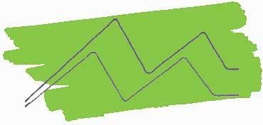 KURETAKE ZIG CLEAN COLOR REAL BRUSH ROTULADOR ACUARELABLE MAY GREEN Nº 047