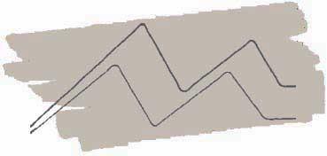 KURETAKE ZIG CARTOONIST KURECOLOR FINE & BRUSH FOR MANGA  -  ROTULADOR AL ALCOHOL DE 2 PUNTAS FINA - PINCEL WARM GRAY 4 Nº W  - 04