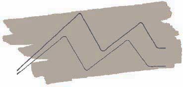 KURETAKE ZIG CARTOONIST KURECOLOR FINE & BRUSH FOR MANGA  -  ROTULADOR AL ALCOHOL DE 2 PUNTAS FINA - PINCEL WARM GRAY 6 Nº W  - 06