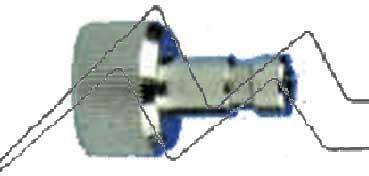CONEXIÓN RÁPIDA ENTRADA 5 MM. CON ROSCA 1/8 MACHO. HANSA  H104063