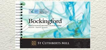 BOCKINGFORD BLOCK 300 G 12 HOJAS CON ESPIRAL GRANO FINO