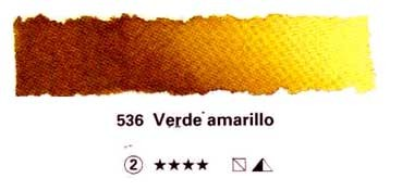 SCHMINCKE HORADAM ACUARELA ARTIST GODET COMPLETO VERDE AMARILLO SERIE 2 Nº 536