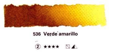 SCHMINCKE HORADAM TUBO DE ACUARELA ARTIST VERDE AMARILLO SERIE 2 Nº 536