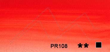 WINSOR & NEWTON ACUARELA ARTISTS ROJO DE CADMIO (CADMIUM RED) SERIE 4 Nº 094