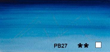 WINSOR & NEWTON ACUARELA ARTISTS TUBO AZUL PRUSIA (PRUSSIAN BLUE) SERIE 1 Nº 538