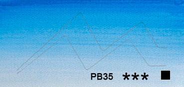 WINSOR & NEWTON ACUARELA ARTISTS TUBO AZUL CERULEO SOMBRA ROJA (CERULEAN BLUE RED SHADE) SERIE 3 Nº 140
