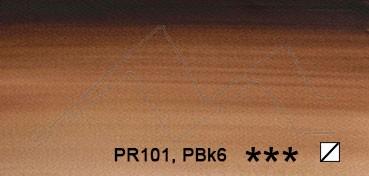 WINSOR & NEWTON ACUARELA ARTISTS TUBO PARDO VAN DYKC (VANDYKE BROWN) SERIE 1 Nº 676